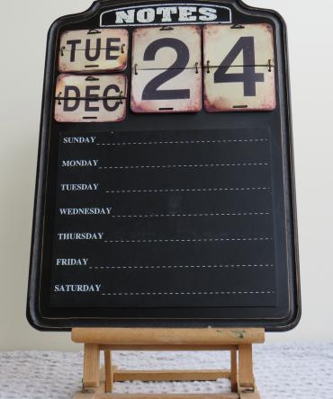 Houten notitiebord