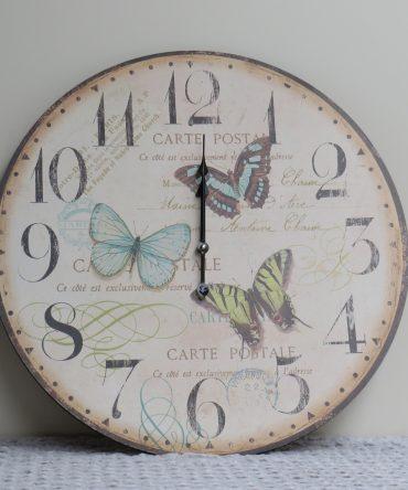 Klok Met Vlinders