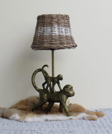 Tafellamp 2 aapjes