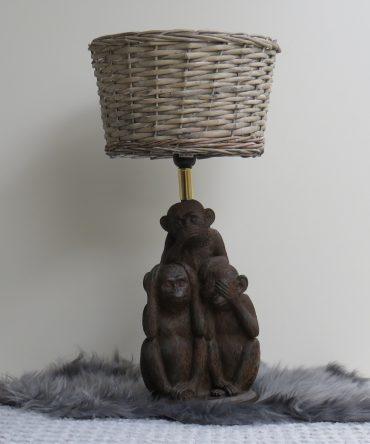 Tafellamp Apen