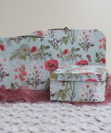 Decoratie Koffertjes set van 3