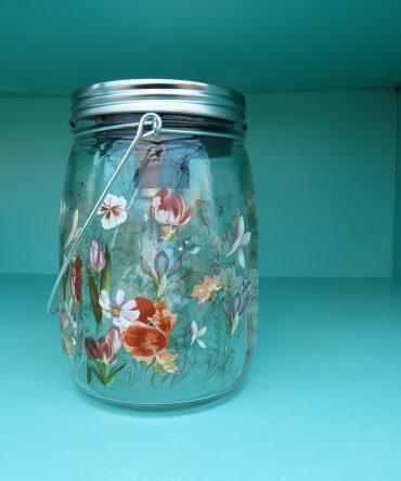 Flower pot met led verlichting